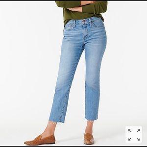 NWT Jcrew Slim Straight Jeans